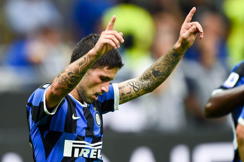 esultanza gol Stefano Sensi, Inter