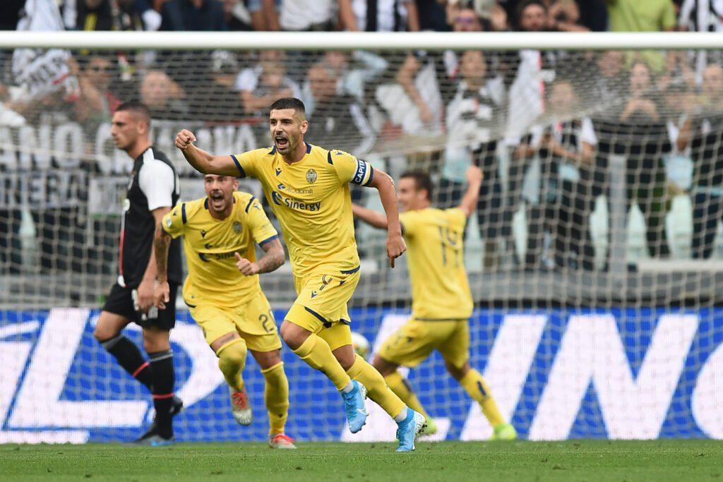 esultanza gol Veloso, Juventus-Verona