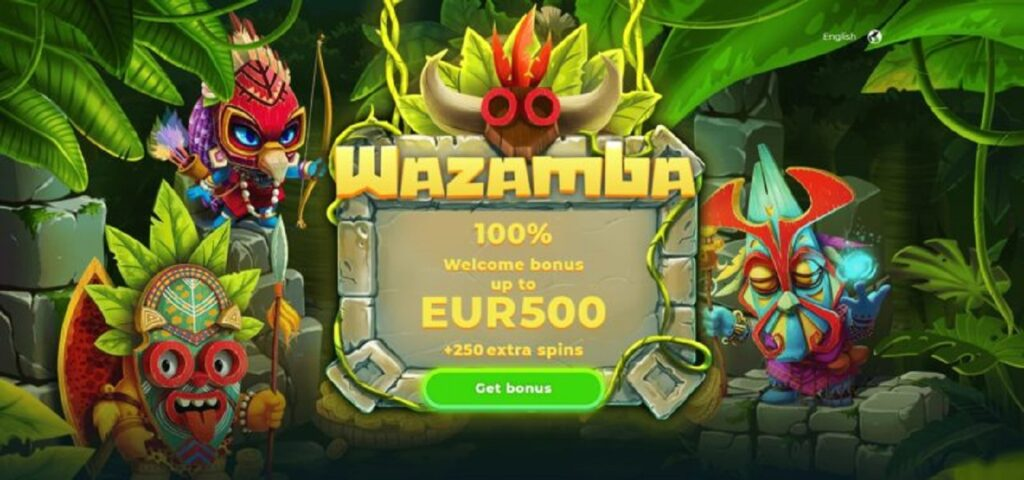 Bonus benvenuto Wazamba Casino