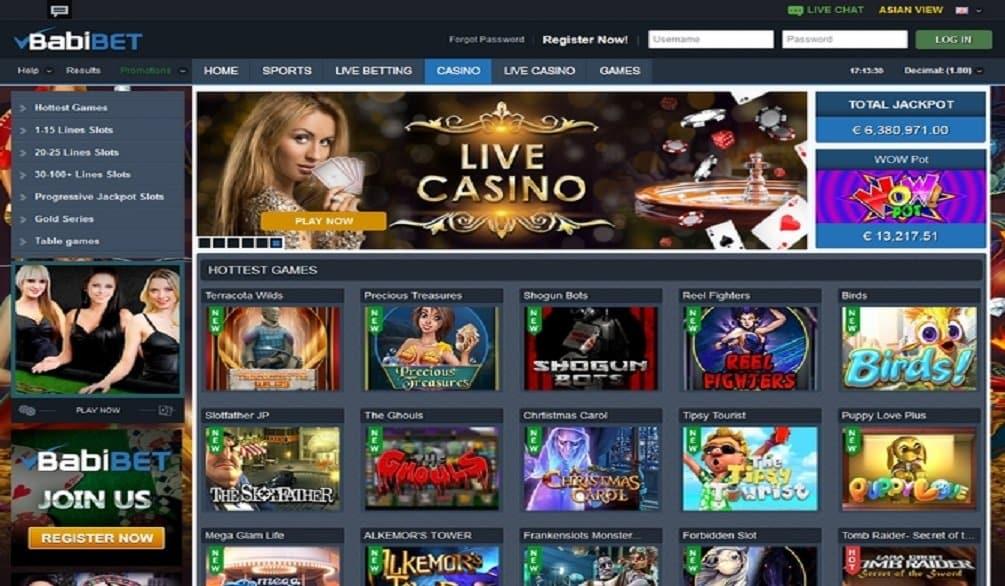 Giochi Babibet Casino