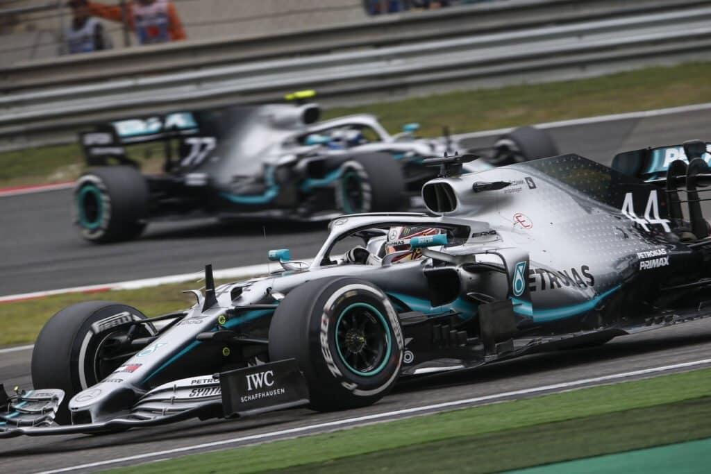 Hamilton-Bottas, Fomula 1 2019