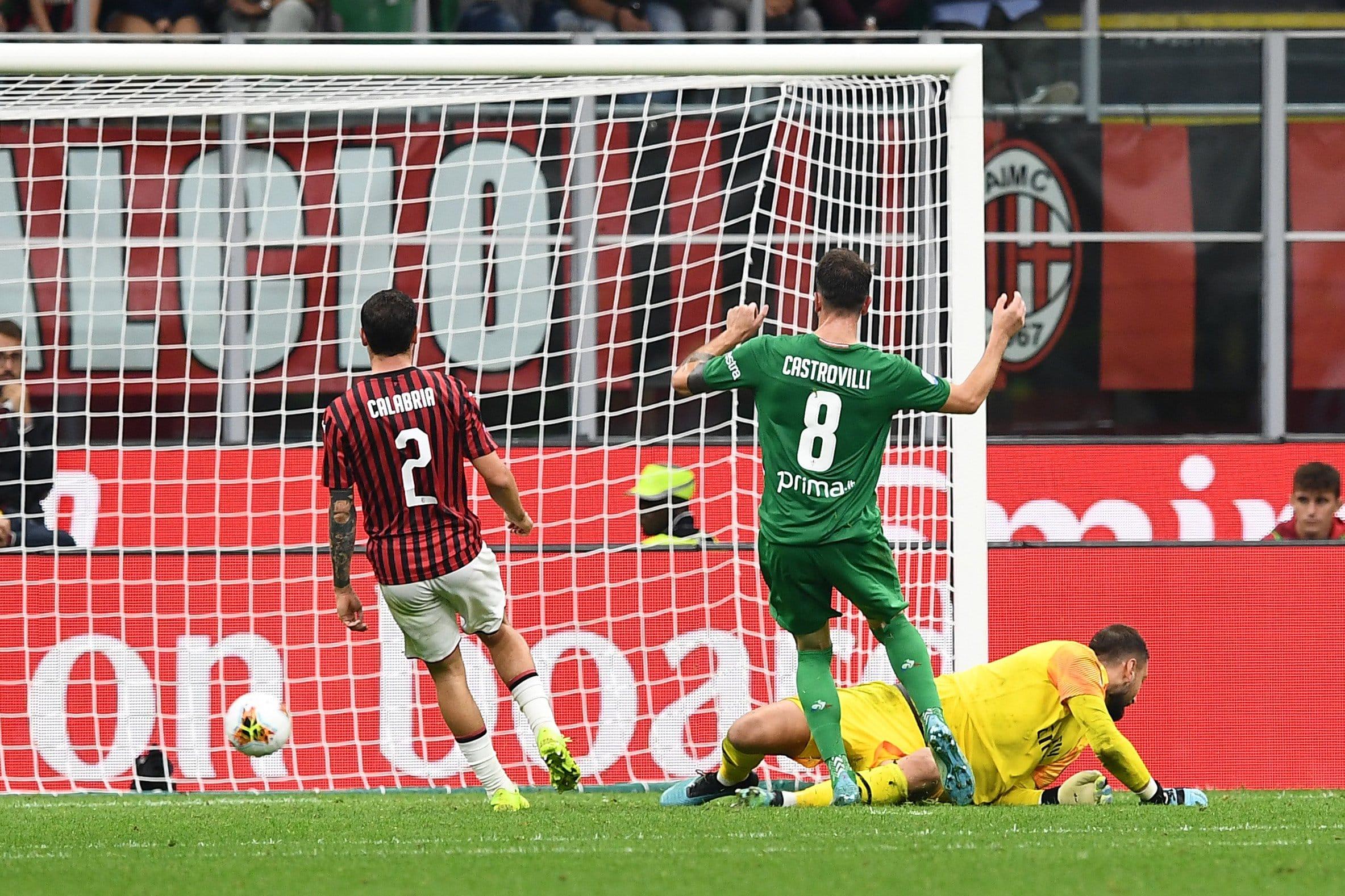 gol Castrovilli, Milan-Fiorentina