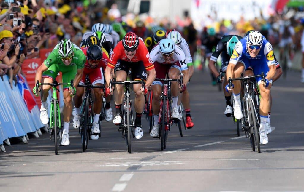 volata ciclismo Tour de France