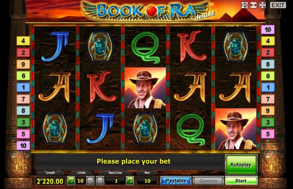 Simboli Book of Ra Slot Machine