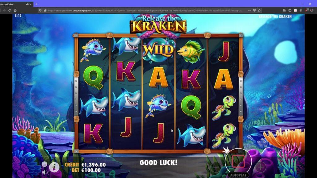 Simboli Release the Kraken Slot Machine