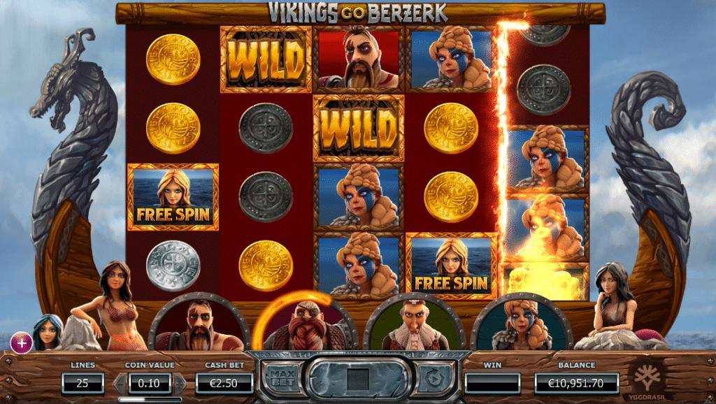 Simboli Vikings go Berzerk Slot Machine