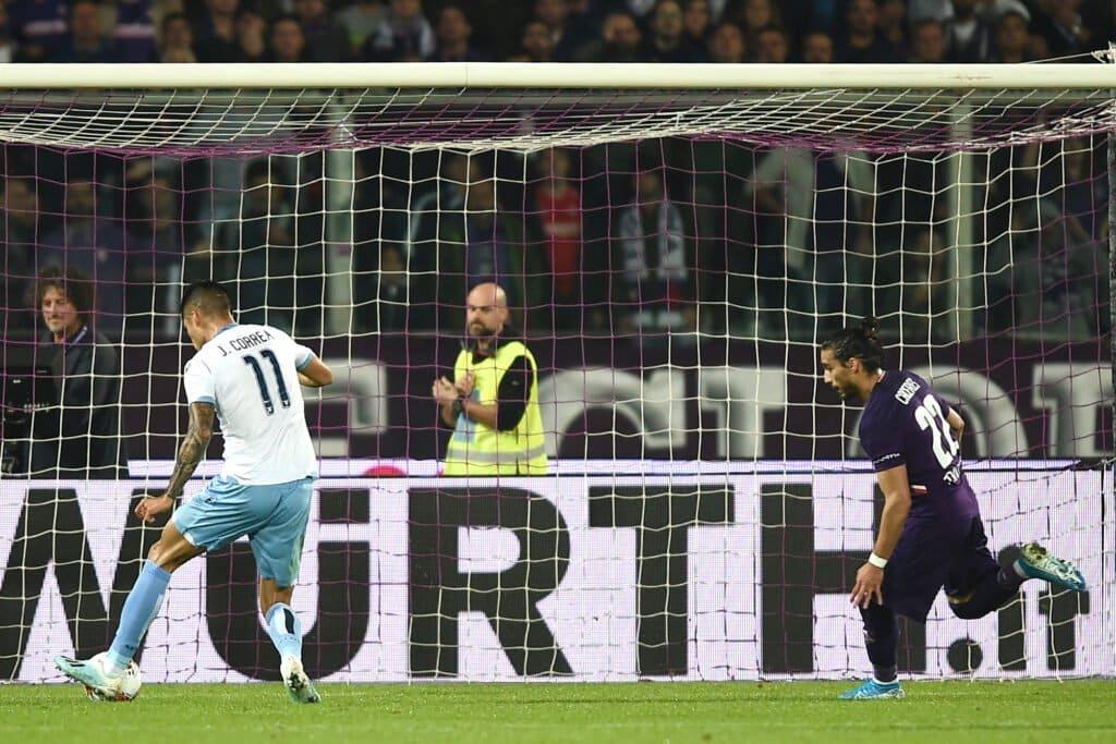 gol Correa, Fiorentina-Lazio
