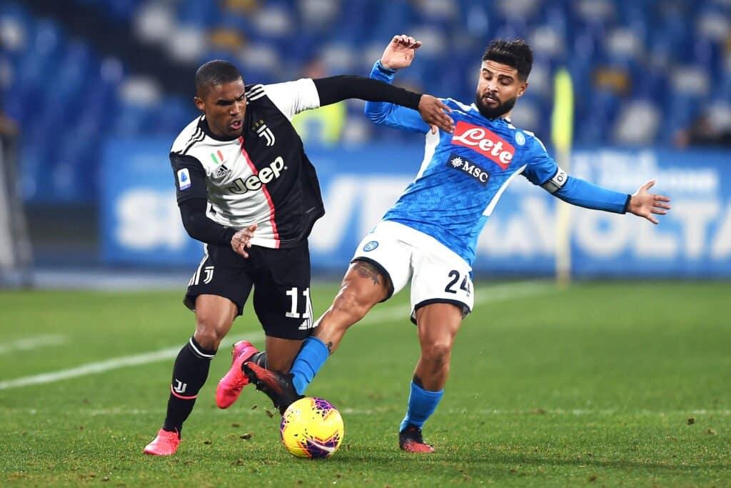 Douglas Costa-Insigne, Napoli-Juventus