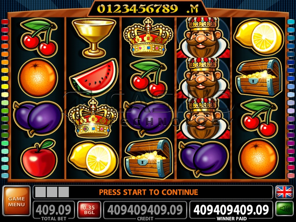simboli 40 Treasures slot machine