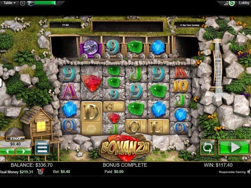 simboli Bonanza Slot Machine