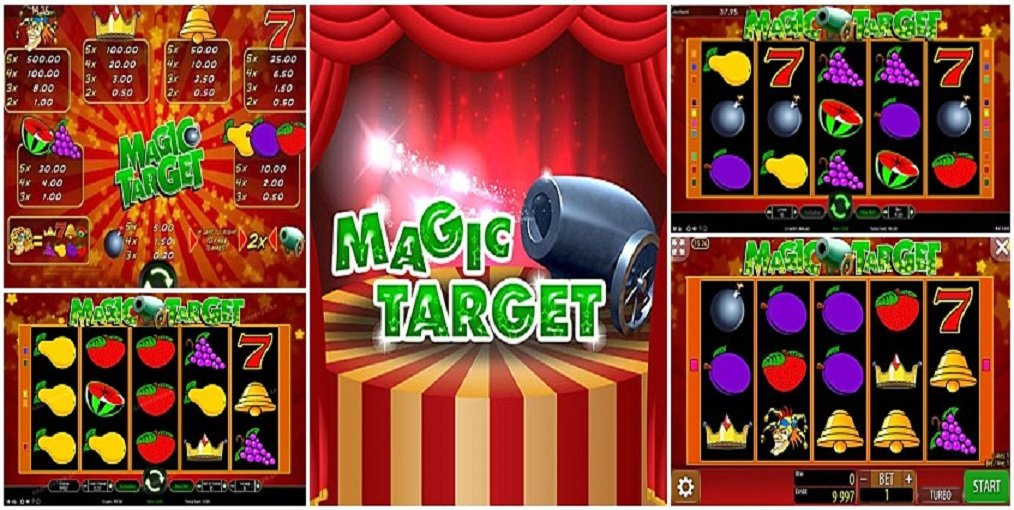 simboli Magic Target Slot Machine
