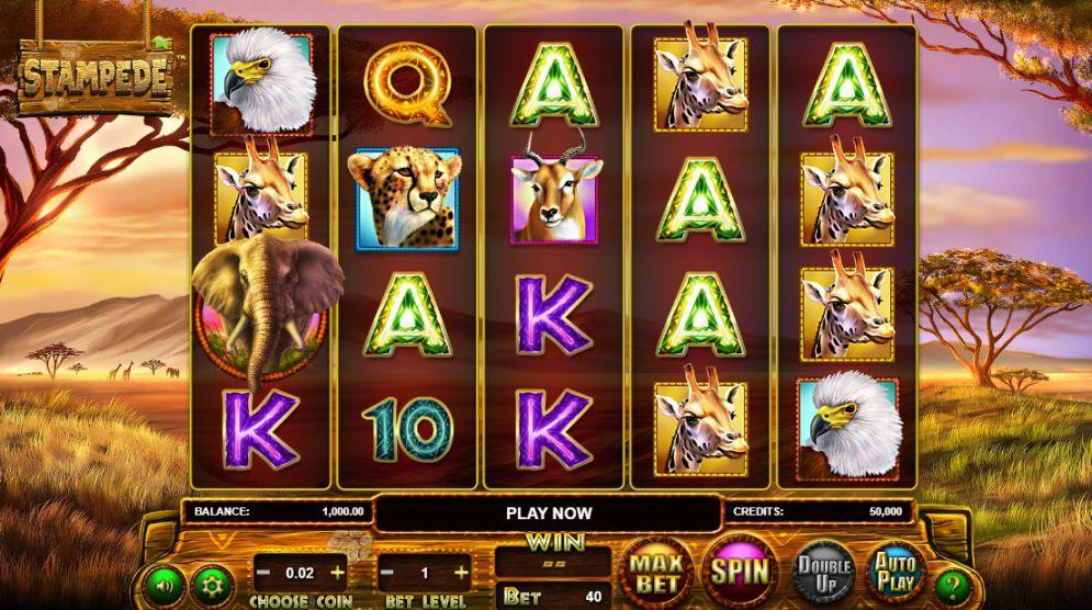 simboli Stampede slot machine