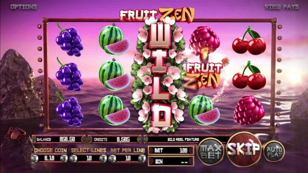 simboli slot Fruit Zen