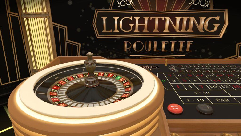Lightning Roulette online