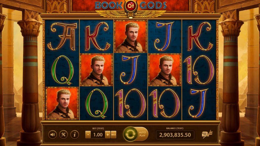 simboli Book of Gods slot machine