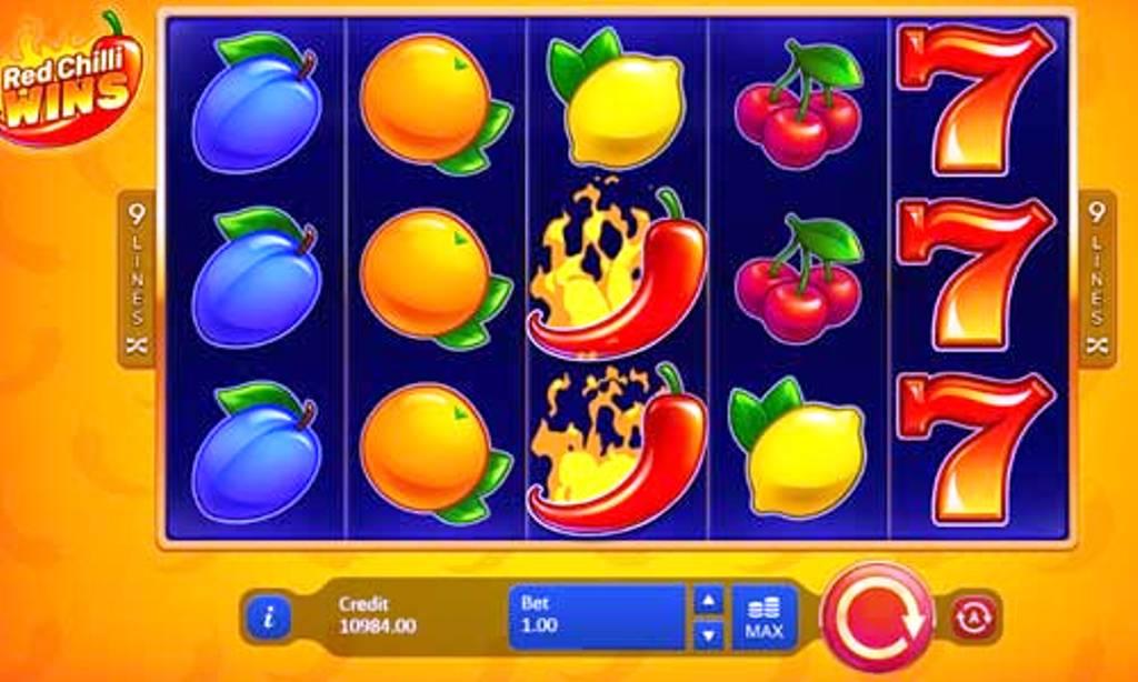 simboli Red Chilli Wins slot machine