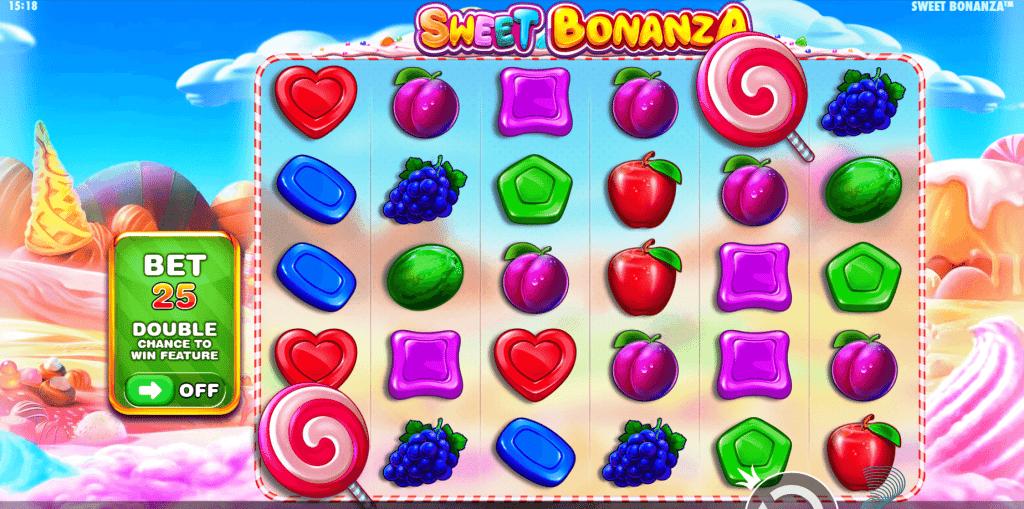 simboli Sweet Bonanza slot machine