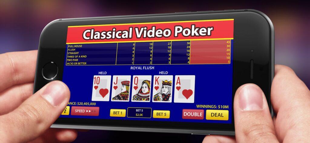 video poker mobile