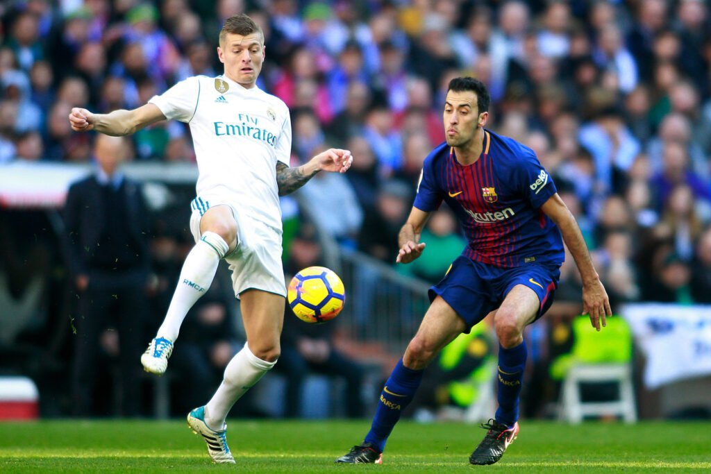 Kroos-Busquets, Real Madrid-Barcellona