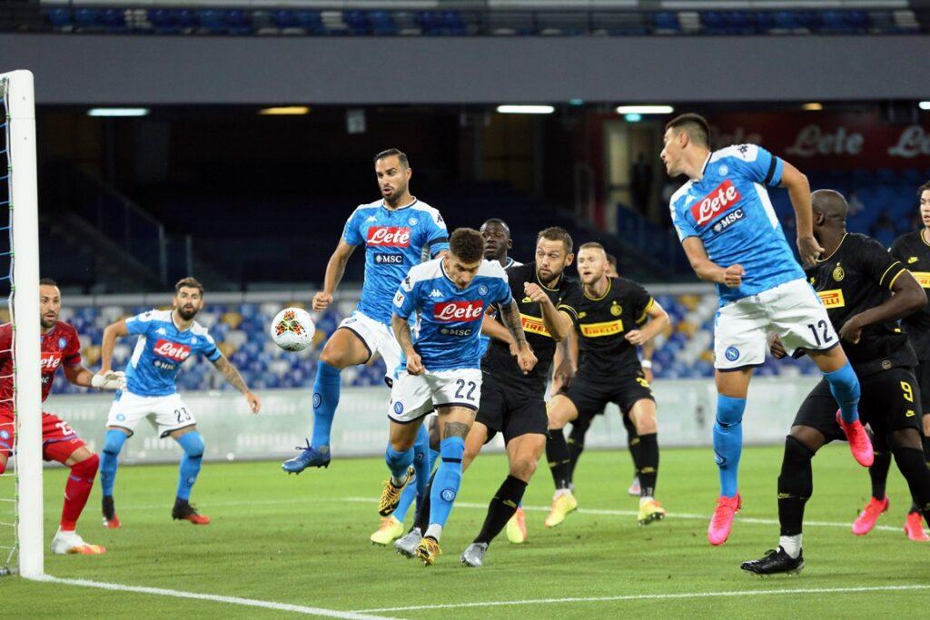 gol Eriksen, Napoli-Inter