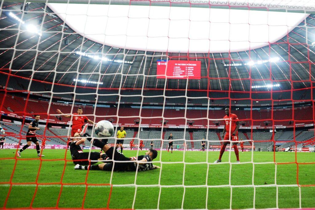 gol Lewandowski, Bayern Monaco