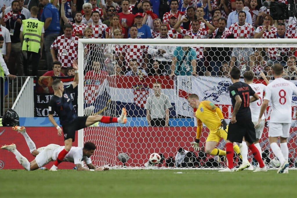 gol Perisic, Croazia-Inghilterra