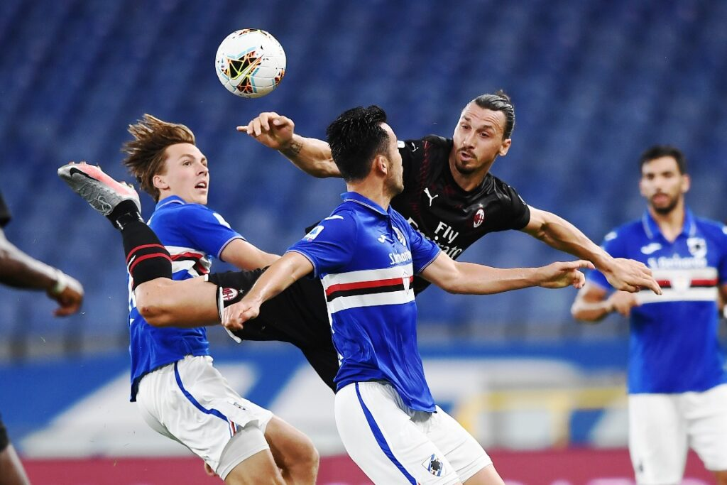 Ibrahimovic-Yoshida, Sampdoria-Milan