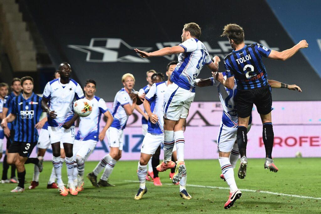 gol Toloi, Atalanta-Sampdoria