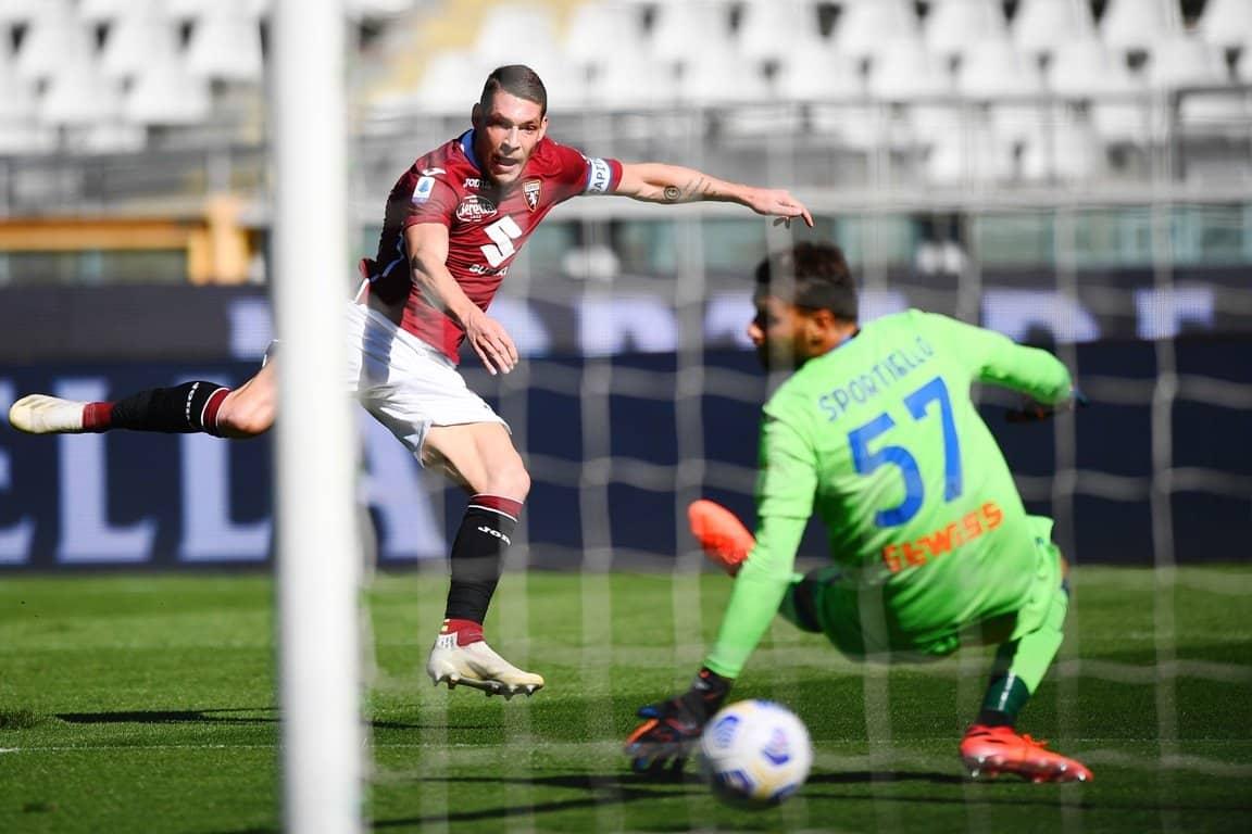 gol Belotti, Torino-Atalanta