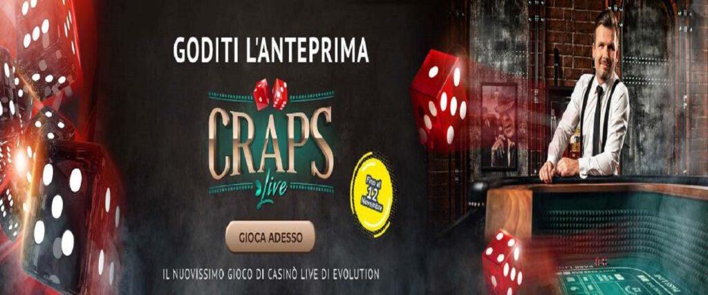 Craps Live