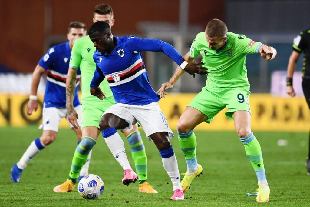 Keita-Vavro, Sampdoria-Lazio
