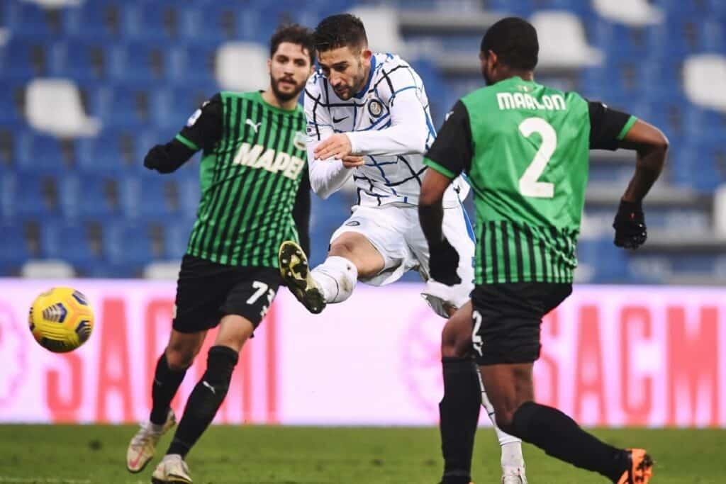gol Gagliardini, Sassuolo-Inter