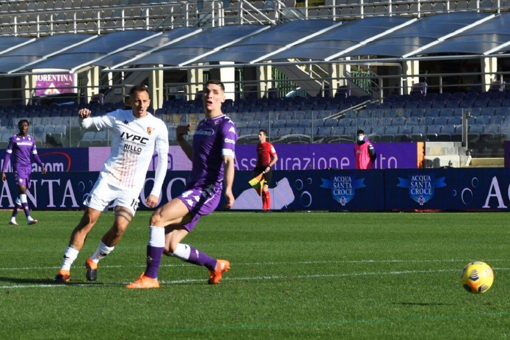 gol Improta, Fiorentina-Benevento