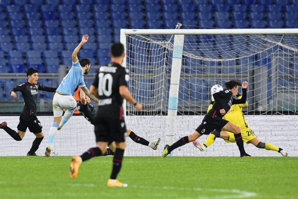 gol Luis Alberto, Lazio-Bologna