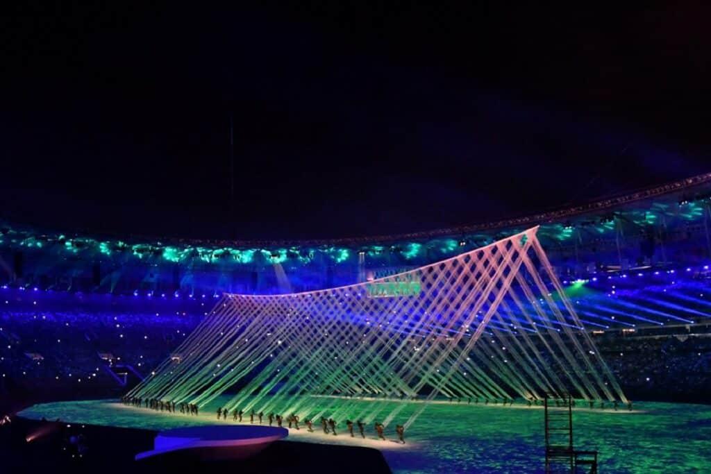 cerimonia apertura Olimpiadi
