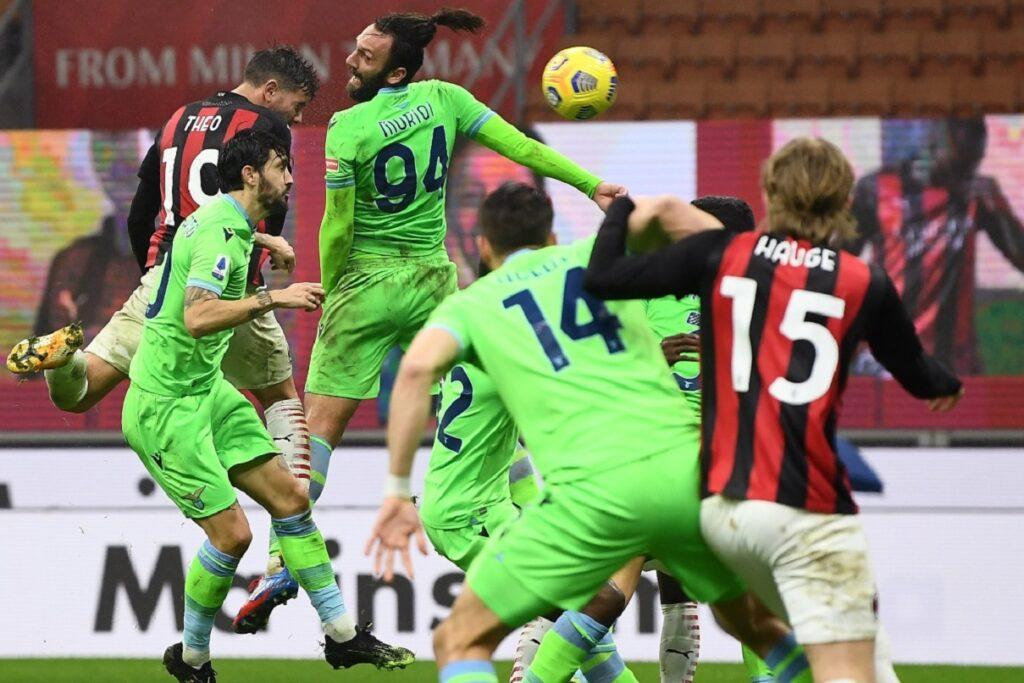 gol Hernandez, Milan-Lazio