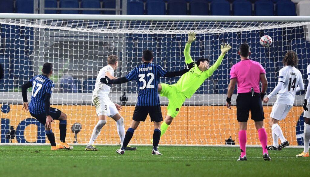 gol Romero, Atalanta-Midtjylland