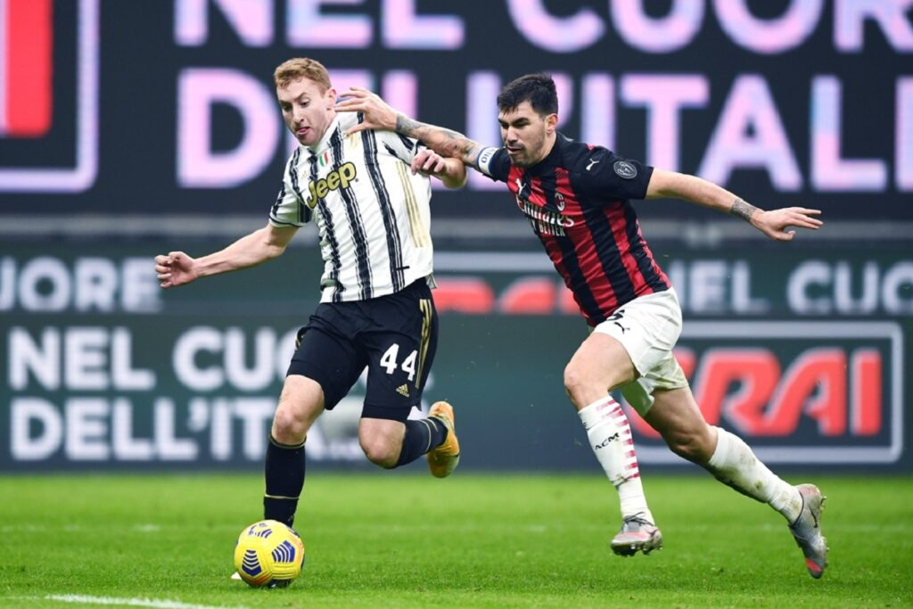 Kulusevski-Romagnoli, Milan-Juventus