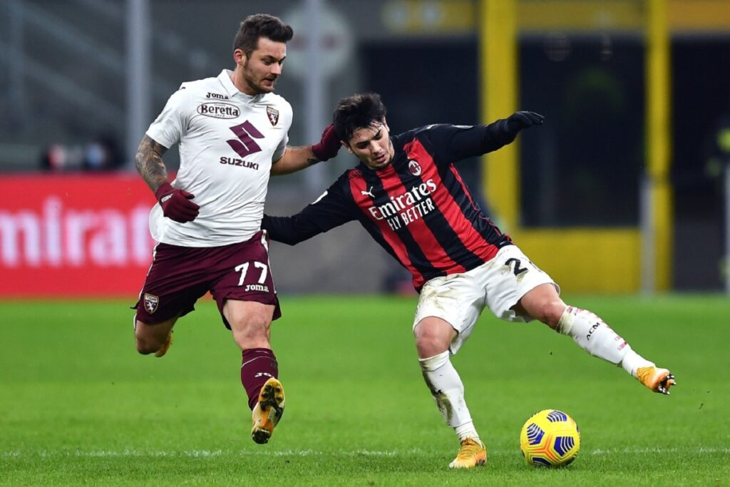 Linetty-Diaz, Milan-Torino