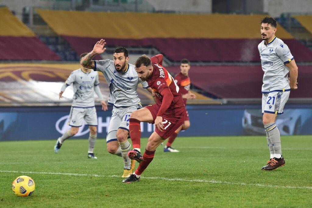 gol Mayoral, Roma-Verona