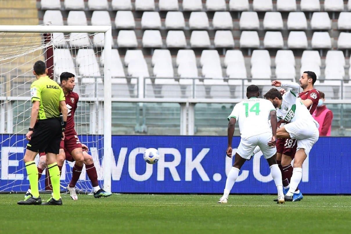 gol Berardi, Torino-Sassuolo