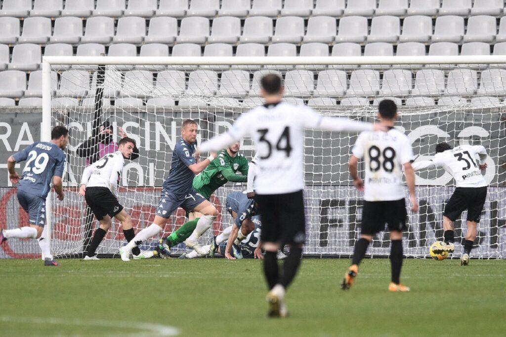 gol Daniele Verde, Spezia-Benevento