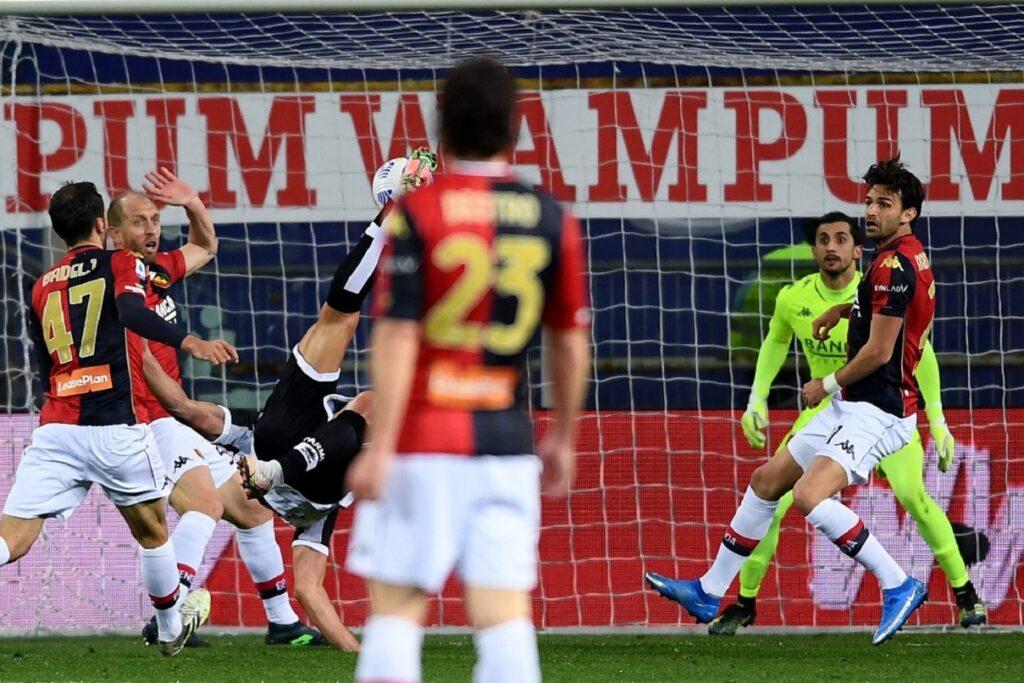 gol rovesciata Pellé, Parma-Genoa