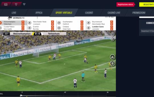 Come vincere alle Scommesse Virtuali Calcio
