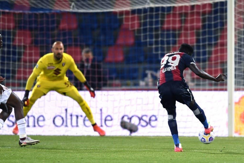 gol Barrow, Bologna-Torino