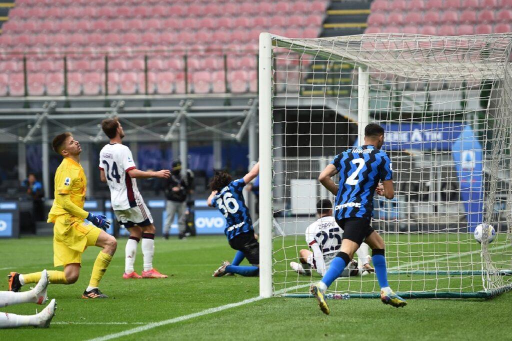 gol Darmian, Inter-Cagliari
