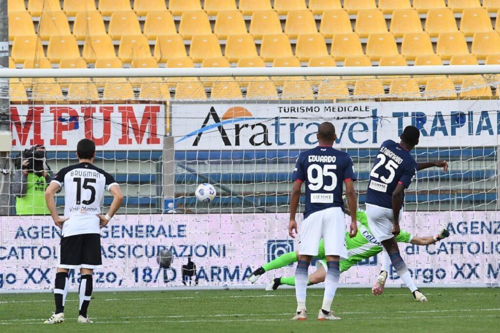 gol Simy, Parma-Crotone