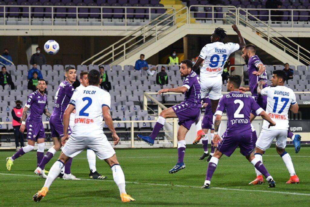 gol Zapata, Fiorentina-Atalanta