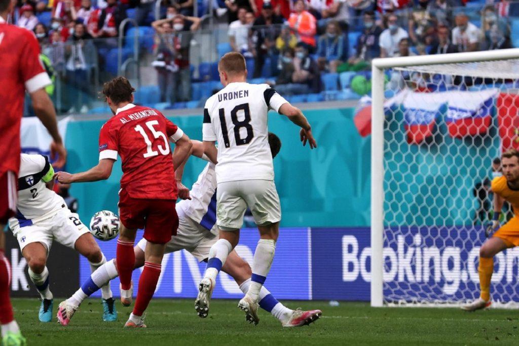 gol Alexey Miranchuk, Finlandia-Russia