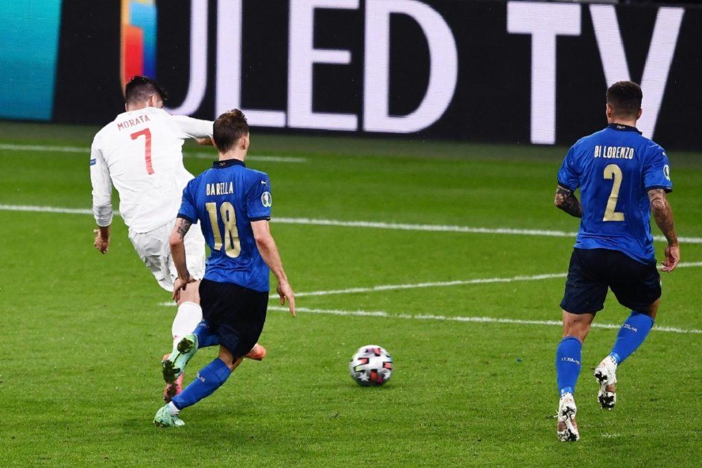 gol Morata, Italia-Spagna